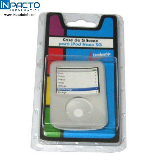 Case Silicone Leadership Para iPod