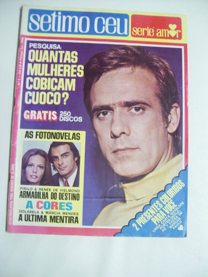 Sétimo Céu Série Amor Nº 2: Marcos Paulo - Ronnie Von - 1972