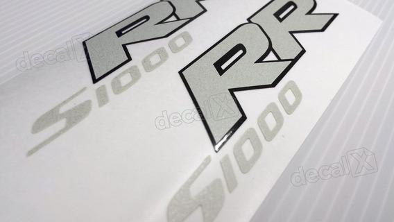 Emblema Adesivo Bmw S1000rr Par Bmws1000rb