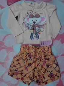 6875bbf3e Conjunto Infantil Para Menina Lilica Ripilica N:4 - Calçados, Roupas ...