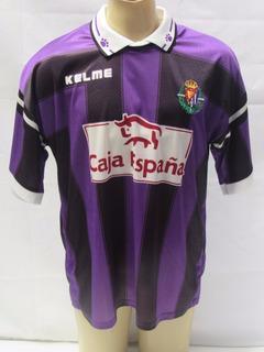 Antiga Camisa De Futebol Do Real Valladolid Da Espanha Tu25