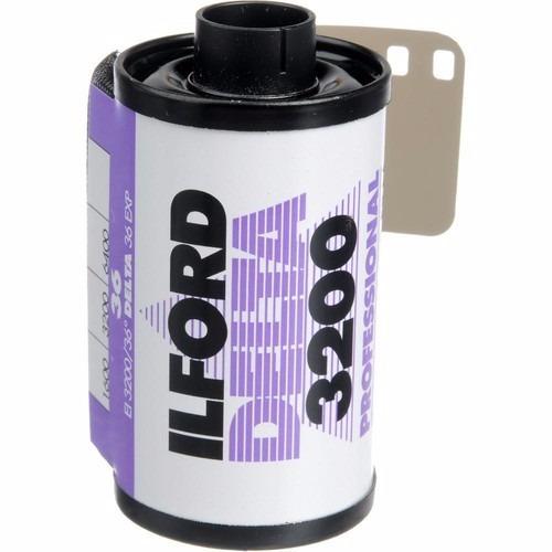 Filme Fotográfico 35mm Ilford Iso 3200 Preto Branco Va02/17