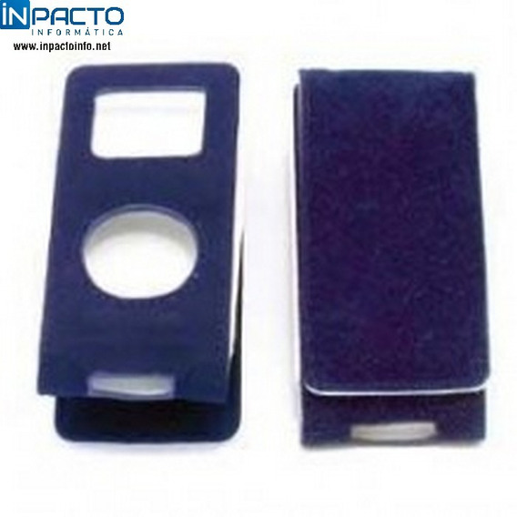 Case Leadership Veludo iPod Shuffle Azul