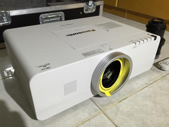 Projetor Panasonic Ex600 C/ Case E Suporte Mega Projetelas