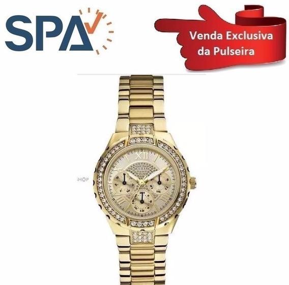 Pulseira Dourada Para Relogio Guess W0111l2 - 92347lpgsda5