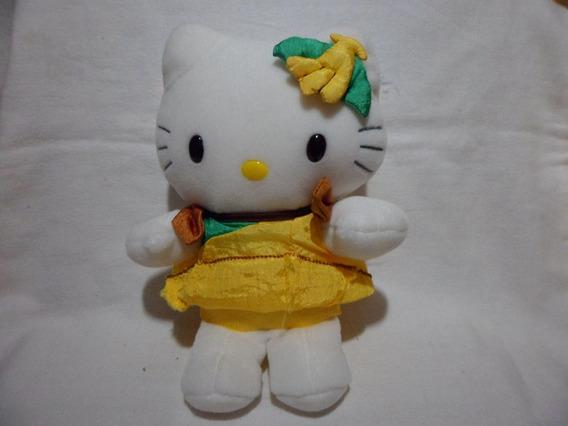 Pelucia Brinquedo Gata Hello Kitty 20cm Altura Usado