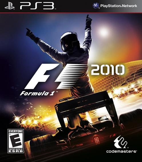 Jogo Formula 1 F1 2010 Playstation 3 Ps3 Corrida Mídia Físic