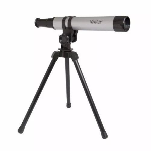 Telescópio Portátil Com Tripé Vivtel30300