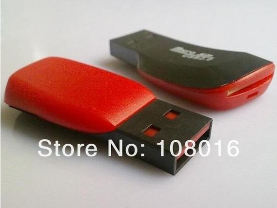 2 Leitores De Cartão Micro Sd Até 32gb 2.0 - Frete R$14,00