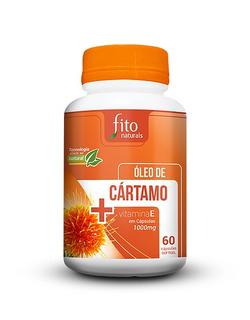 Kit 2 Óleo De Cartamo Original 100% 60 Cápsulas 1000mg