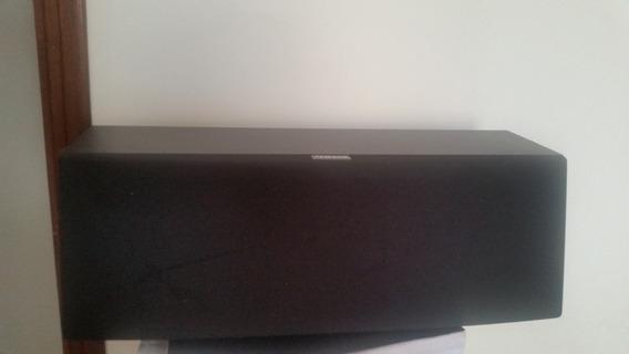 Caixa De Som Central Grande Yamaha Controle Level P Receiver