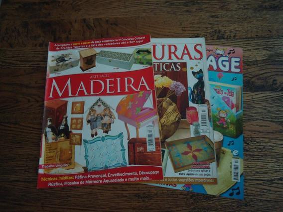 Revista - 3 Revistas De Artesanto Passo-a-passo