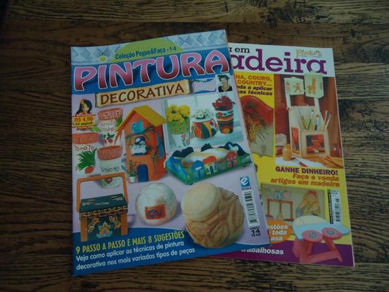 Revista - 2 Revistas De Artesanato Com Lindas Técnicas