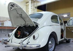 Fusca 1960 Antigo - 100% Restaurado - Aceito Troca