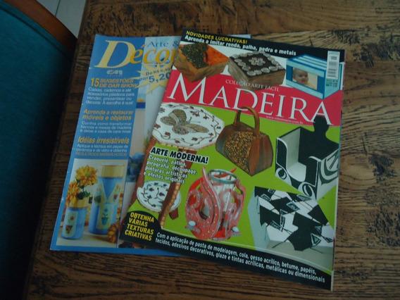 Revista De Artesantao - 2 Revistas Com Técnicas De Pintura