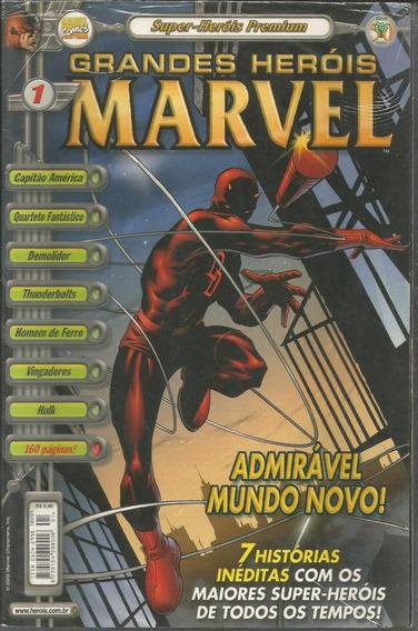 Grandes Herois Marvel Premium 1 - Abril Bonellihq Cx403 H18
