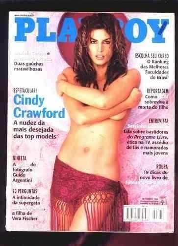 Playboy Brasil Cindy Crawford * Frete Grátis*