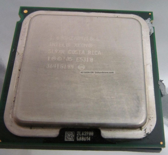 Processador Intel Xeon E5310 Sl9xr 1.60ghz 8m Cache 1066