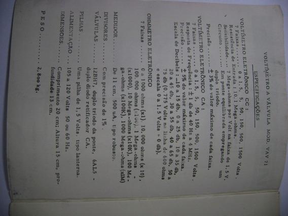 Manual Com Esquema Multimetro-71b