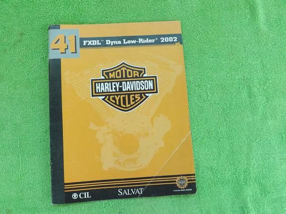 Antigo Encarte Revista Motos Harley Davidson Nº 41 Ed.salvat