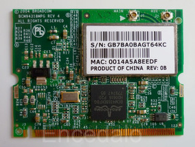 BROADCOM BCM94318 DRIVER FOR PC