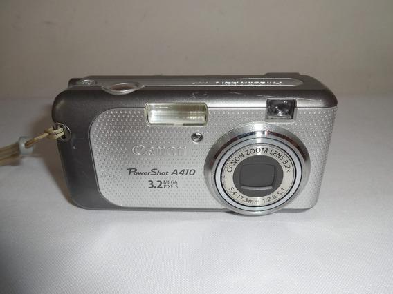 Câmera Digital Canon Powershot A410 Ler Descrição