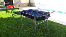 Alquiler Juegos Metegol Tejo Ping Pong Pool Plaza Blanda