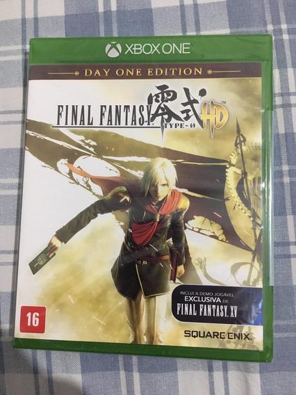 Final Fantasy Type-0 Hd Xbox One Lacrado