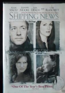 Dvd Shipping News - Usa - (atando Cabos) - Original