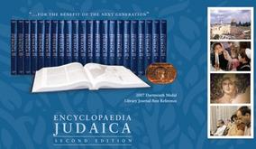 Encyclopedia Judaica - Second Edition (22 Vol) Inglês Judeu