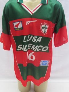 Camisa Futebol Portuguesa De Jogo #16 Rhumell Ricardo Vc10