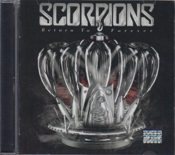 Scorpions Return To Forever Disco Cd Con 12 Canciones
