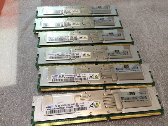Memoria 8gb Pc2-5300f Fb-dimm Ibm Dell Hp Pn 398709-071