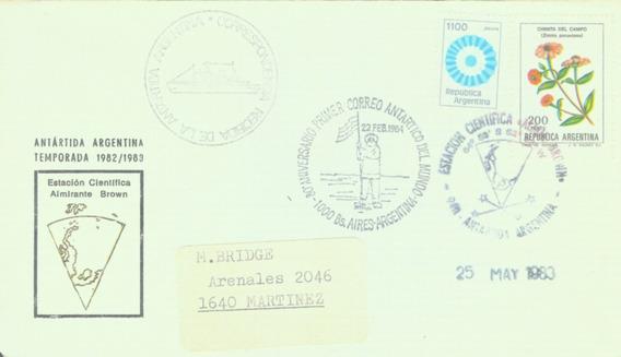 C@- Antartida - Argentina - Base Orcadas- Año 1983