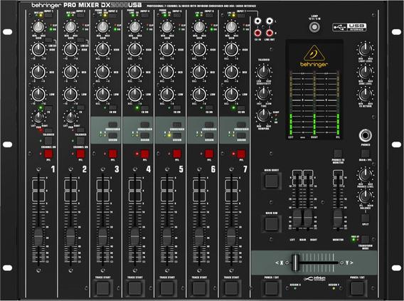 Mixer Para Dj Behringer Dx 2000 Garantia 2 Anos.