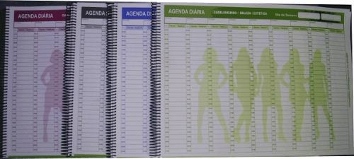 Agenda Diaria Para Salões De Beleza Para 100 Dias Md.32x43