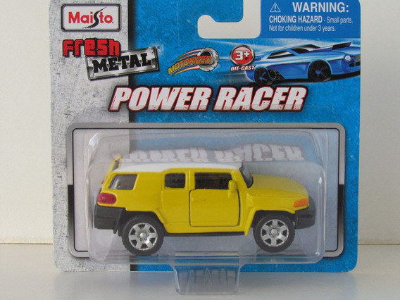 Maisto Power Race - Toyota Fj Cruiser - Escala 1/49