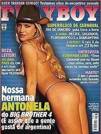 Playboy Antonela * Frete Grátis*