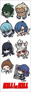 Plancha De Stickers De Anime De Kill La Kill
