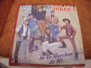 Lp Los Jockers, Si Te Marchas De Mi
