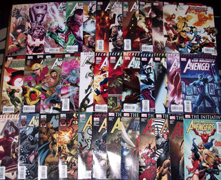 Marvel - The Mighty Avengers 1st Serie (1 Al 36) Completo.