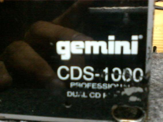 Cdj Gemini Cds 1000 Com Defeito Em Umas Das Gavetas