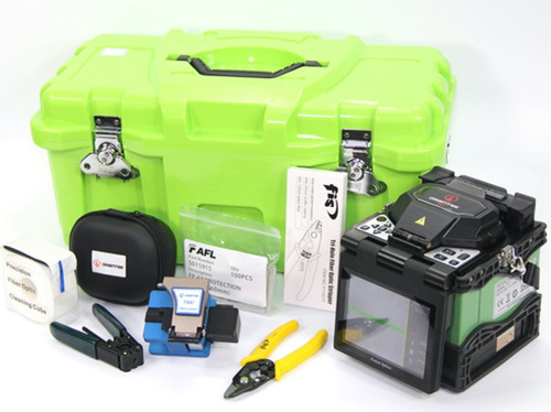 Imagen 1 de 7 de Fusionadora Fibra Optica Orientek T37+otdr+cortadora+vfl+pme