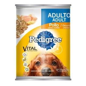 Alim. Perros Adultos Pedigree Carne Molida Pollo Lata +kota