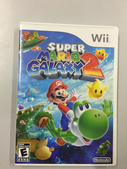 Game Super Mario Galaxy 2 Wii Original