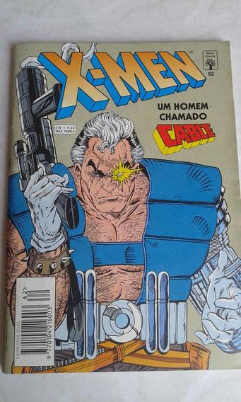 Revista X-men Nº 62 Editora Abril Jovem Bom Estado