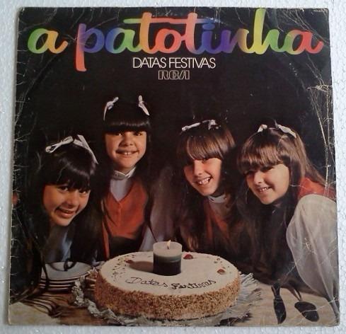 Lp A Patotinha Datas Festivas 1979 Rca