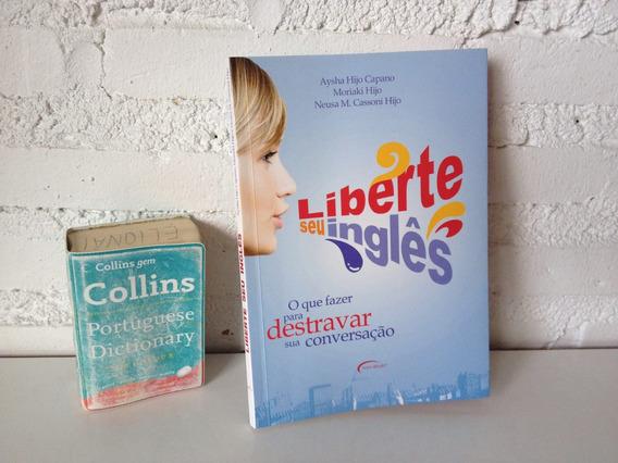 Livro Liberte Seu Inglês Dicionário Collins Austrália Cod633