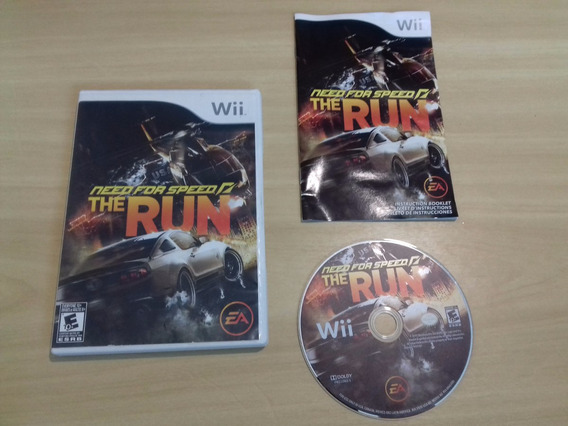 Need For Speed: The Run - Nintendo Wii - Original - American