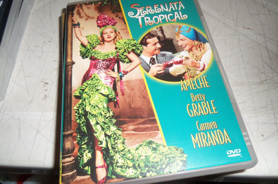 Dvd Serenata Tropical Carmen Miranda - Est E